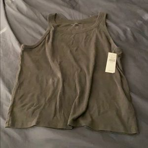 NWT AE tank. Charcoal color